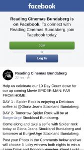 Reading Cinemas Bundaberg – Win a Large Drink and Popcorn Voucher
