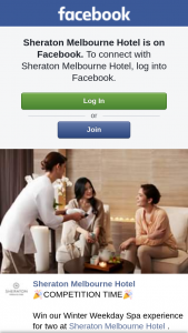 Sheraton Melbourne – Win Our Winter Weekday Spa Experience for Two at Sheraton Melbourne Hotel .