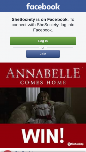 SheSociety – to See Annabelle Comes Home