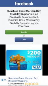 Sunshine Coast Moreton Bay Disability Supports – Win a $200 Visa Gift Card