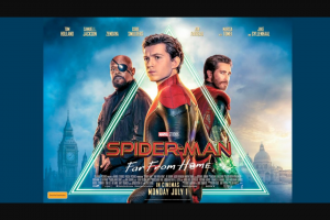 The Daily Telegraph Plusrewards – Win a Family Pass to an Exclusive Preview Screening of Spider-Man™ Far From Home (prize valued at $2,000)
