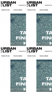 The Urban List – Win) Your Holiday Match' and Accompanyingentryform As Hosted on The Promoter's Website (prize valued at $2,500)