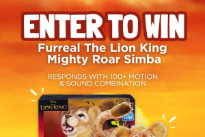 Toymate – Only Can Time Please Mufasa (prize valued at $169)