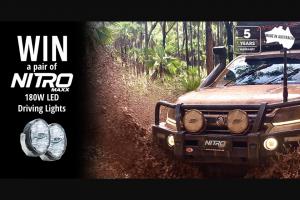 Ultra Vision – Win Nitro Maxx 180w Led Driving Lights (prize valued at $1,700)