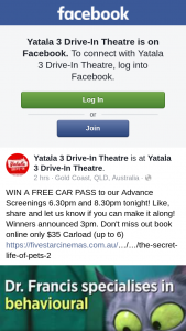 Yatala 3 Drive-In – Win a Free Car Pass to Our Advance Screenings 6.30pm and 8.30pm Tonight