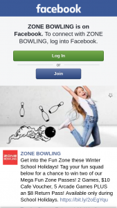 Zone Bowling – Win Two of Our Mega Fun Zone Passes