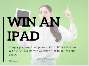 ABA Tax Australia – Win an iPad