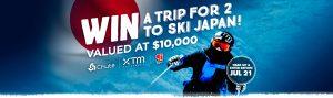 Anaconda – Win a ski holiday for 2 to Hakuba, Japan