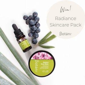 Botani Skincare Australia – Win a Radiance skincare prize pack