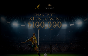 Cellarbrations – Win up to $100,000 in a 'kick for cash' at the Wallabies vs Samoa match