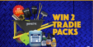 Construction Supply Specialists – Win 2 tradie prize packs