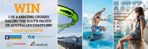 CruiseMagastore – Win 1 of 4 cruises onboard Royal Caribbean's Voyager of the Seas