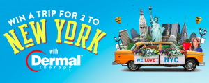 Dermal Therapy – Win 1 trip for 2 to New York