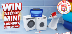 Henkel – Win 1 of 5 Coles Collectables Complete mini kits OR many other mini laundry collectables sets