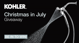 Kohler Australia – Christmas in July Giveaway – Win 1 of 2 Converge Dual Showerheads
