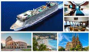Mike Da Silva & Associates – Win a cruise and flights for 2 to Europe