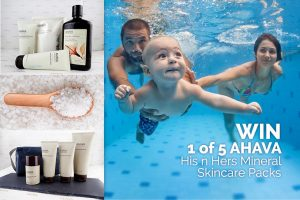 Mum Central – Win 1 of 5 Ahava His n Hers Mineral Skincare prize packs