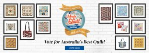 Quilters Companion –  Vote to Win a grand prize of $1,000 cash OR 1 of 6 minor prizes