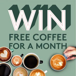 Real Peas – Win free coffee for a Month