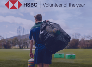 Rugby Australia – HSBC Volunteer of the Year – Win $10,000 grant PLUS a trip for 2 to the 2019 Rugby Australia Awards in Sydney