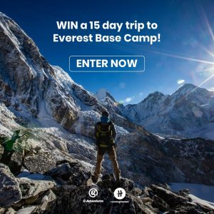 Running Heroes – Win a trip to Kathmandu to conquer the mighty Everest Base Camp