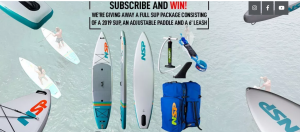Surf SUP Warehouse Australia – Win a prize package valued at $1,500