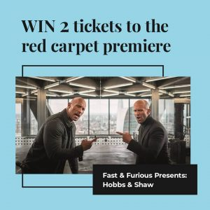 The Entertainment Quarter – Win 2 tickets to the red carpet premier of Fast and Furious