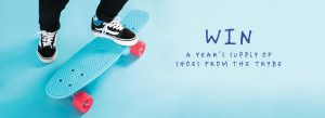 The Trybe – Win a year's supply of shoes