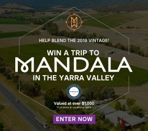 The Wine Collective – Win a trip to Mandala in the Yarra Valley