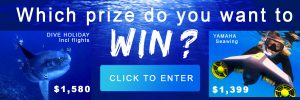 Wildiaries – Win 1 of 2 prizes (Sunfish trip OR Yamaha Seawing – Underwater Scooter)