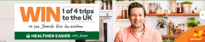 Woolworths Rewards – Win 1 of 4 trips for 2 to the UK