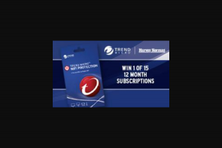 5AA – Win 1 of 15 Trend Micro Wifi Protection 12-month Subscriptions for Up to 2 Devices Valued at $49.95. (prize valued at $49.95)