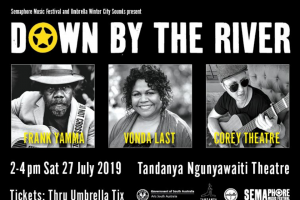 Adelaide Review – Win a Double Pass to Down By The River and Semaphore Music Festival Launch at Tandanya