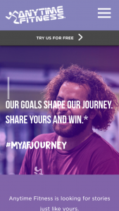Anytime Fitness Members trip to Hamilton Island October 2019 – Titled 'my Af Journey' ('competition') Promoted By Anytime Australia Pty Ltd (abn 11 131 035 491) ('anytime Australia'). (prize valued at $10,000)