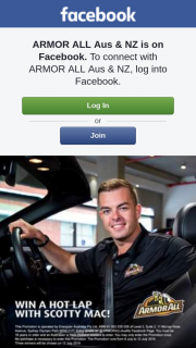 ARMOR ALL Aus & NZ – Win | Armor All Is Giving You The Chance to Win a Hot Lap With Scott Mclaughlin on 30 July at Queensland Raceway (prize valued at $3,000)