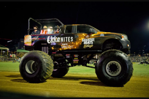 ARN 4KQ – Win 4 Seats In The Back of a Monster Truck That Takes Part In Ekka Nites Entertainment As Well As 4 Tickets to The Ekka and a 4kq Showbag