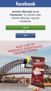 Arnott's Biscuits – Competition (prize valued at $500)