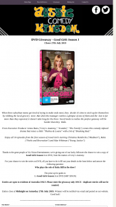 Aussie Comedy Kingdom – Win a Copy of Good Girls Season 1 on DVD (prize valued at $39)