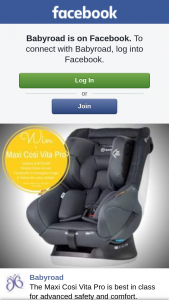 Babyroad – Win a Maxi Cosi Vita Pro 0-4  Carseat Valued at $799.99. (prize valued at $799.99)