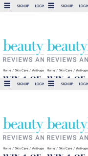 Beauty Heaven – Will Score a Prize Pack Featuring One Ipsum Face Oil and One Ipsum Body Oil