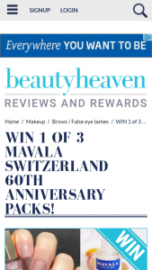 Beauty Heaven – Will Score an Amazing Prize Pack (prize valued at $765)