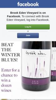 Brook Eden Vineyard – Win a Mixed Dozen of Our Fabulous Wines