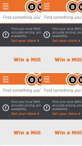 BWS – Woolworths Rewards – Win 1 Million Points