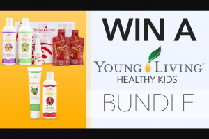 Channel 7 – Sunrise Family – Win a Young Living Healthy Kids Bundle