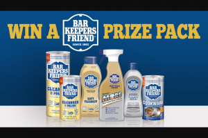 Channel 7 – Sunrise Family – Win 1 of 6 Bar Keeper's Friend Prize Packs In this Week's Sunrise Family Newsletter