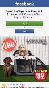 Cheap As Chips – Win Yourself a Dog Kennel