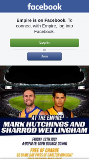 Empire – Four Tickets to The West Coast Vs Collingwood Game Plus a $200 Empire Gift Voucher