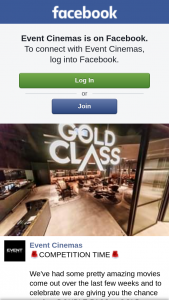 Event Cinemas Coomera – Win a Double-Pass to Gold Class