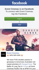Event Cinemas Pacific Fair – to Tomorrows Australian Red Carpet Premiere of #dangerclose