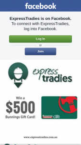 ExpressTradies – Win a $500 Bunnings Voucher (prize valued at $500)
